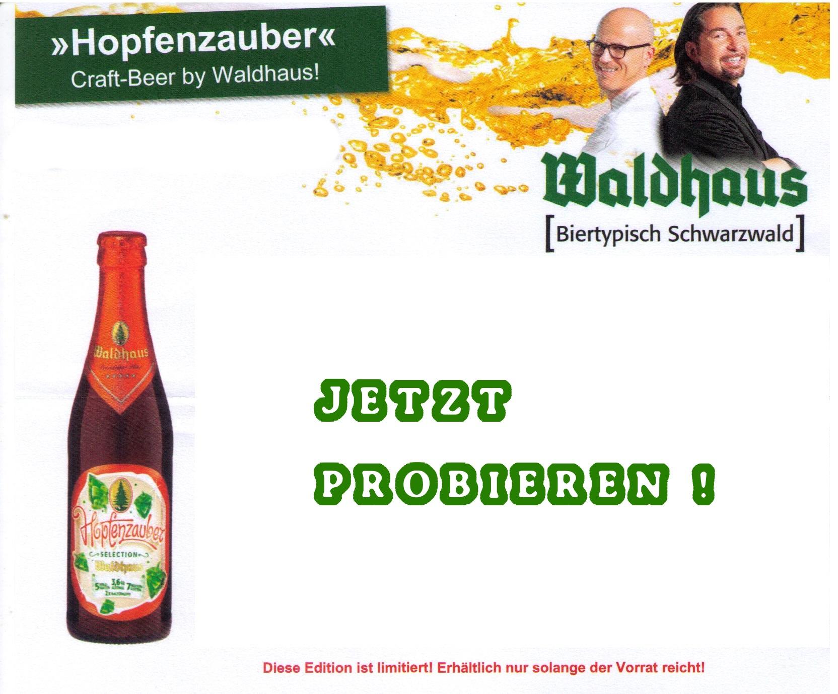 Waldhaus Hopfenzauber Craft-Beer