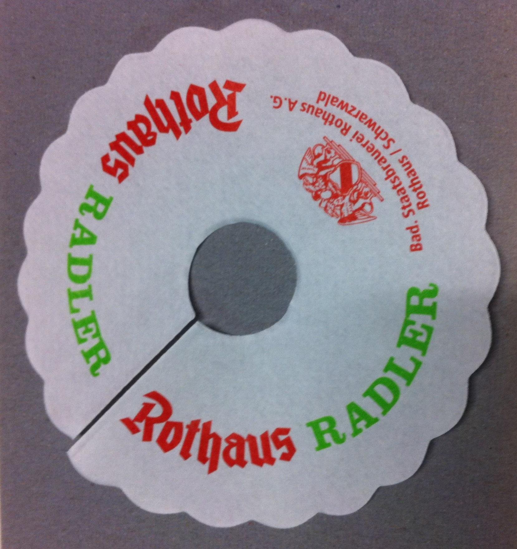 Rothaus Tropfenfänger Radler