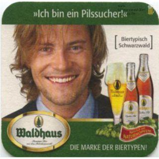 Waldhaus Untersetzer (Bierdeckel)