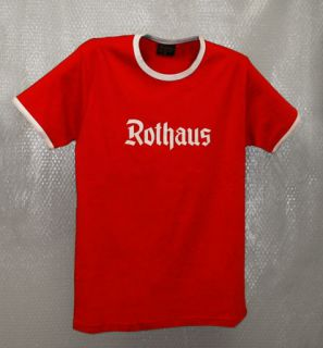 Rothaus T-Shirt in rot
